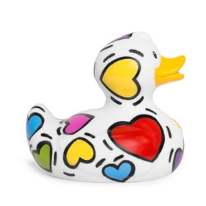 Kačička do vane Bud Ducks Pop Heart