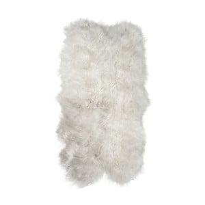 Biely kožušinový koberec z ovčej kože Arctic Fur Resco, 185 × 120 cm