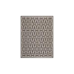 Vlnený koberec Safaj 182x274 cm, hnedý