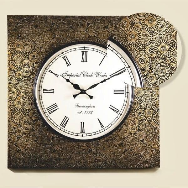 Nástenné hodiny Tepaný rám
