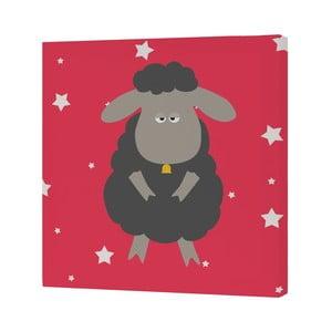 Nástenný obrázok Black Sheep, 27x27 cm