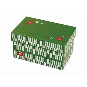 Zelený desiatový box Joli Bento Chiyo, 960ml