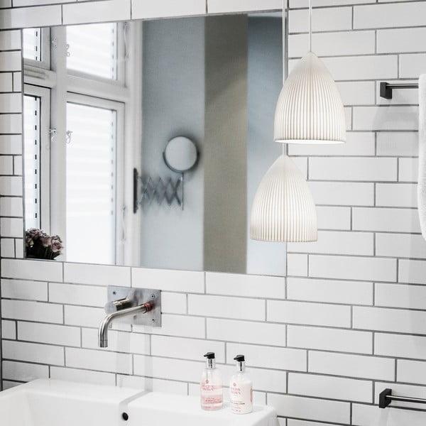 Biele stropné svietidlo Ripples Slope