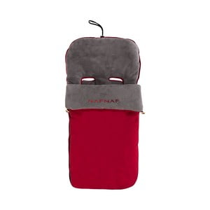 Červený zimný vak na detský kočiarik Naf Naf Liso
