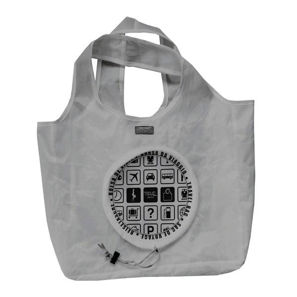 Skladacia taška Travel, sivá