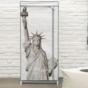 Textilná šatníková skriňa Compactor Wardrobe Liberty