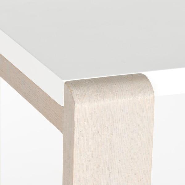 Konzolový stôl Bartholomew, svetlé nohy
