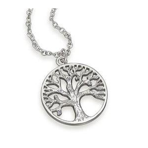 Náhrdelník s krištáľmi Swarovski ® kryštály Gemseller Tree of Life White