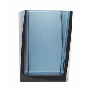 Dóza na zubné kefky Transparent Petrol Blue