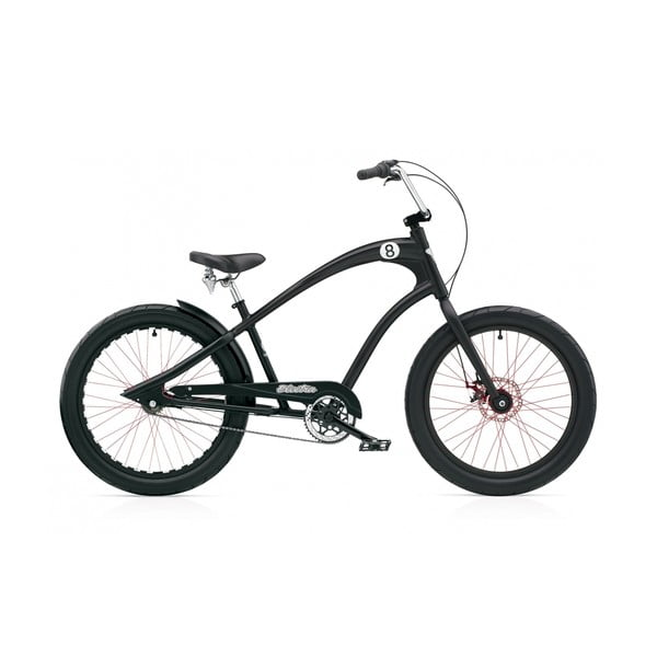 Pánsky bicykel Straight 8 3i DISC black satin