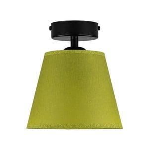 Zelené stropné svietidlo Sotto Luce IRO Parchment, ⌀ 16 cm
