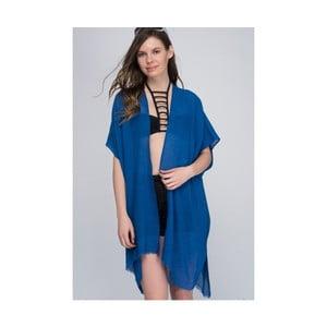 Modrá dámska priehľadná letná tunika NW Ibiza