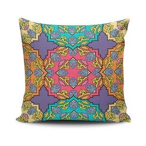 Obliečka na vankúš s prímesou bavlny Cushion Love Huraso, 45 × 45 cm