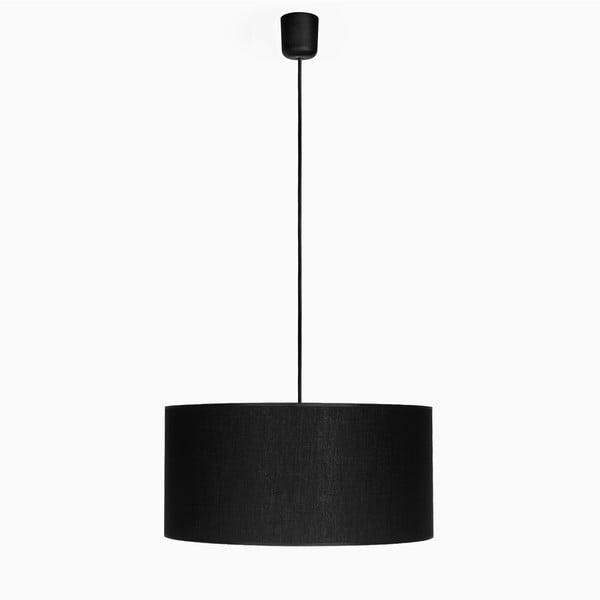 Závesné svietidlo Tres XL, čierna/čierna