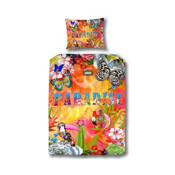 Obliečky na jednolôžko Melli Mello Exotic, 140 x 200 cm