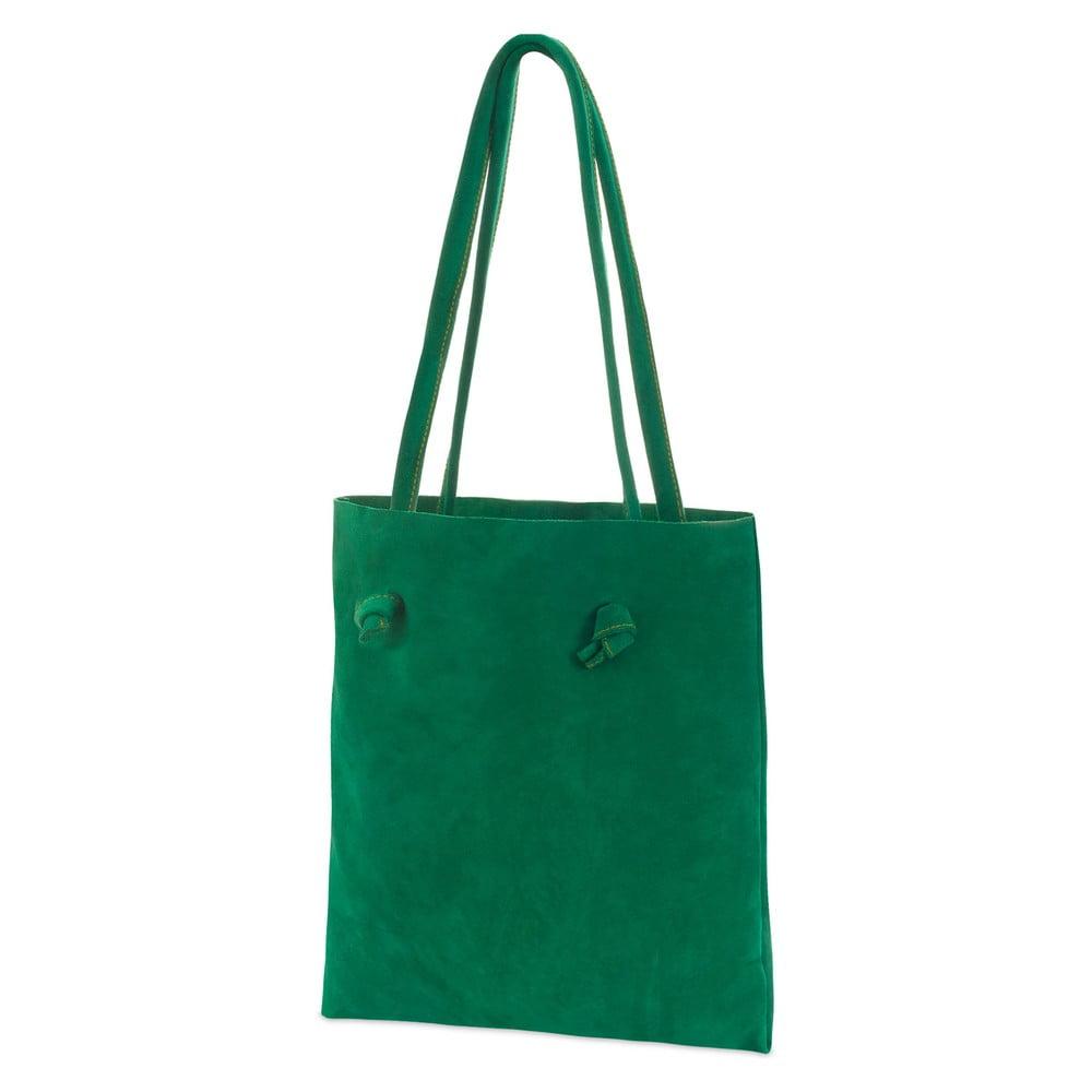 Dámska kožená taška Woox Simplex Euchlora