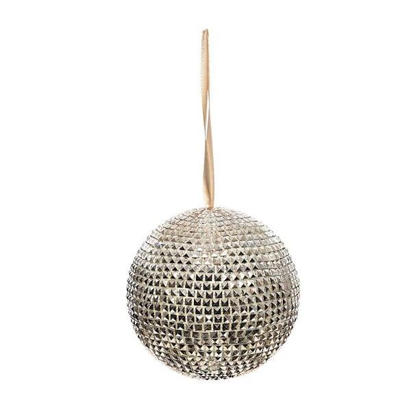 Závesná guľa Champagne, 12 cm