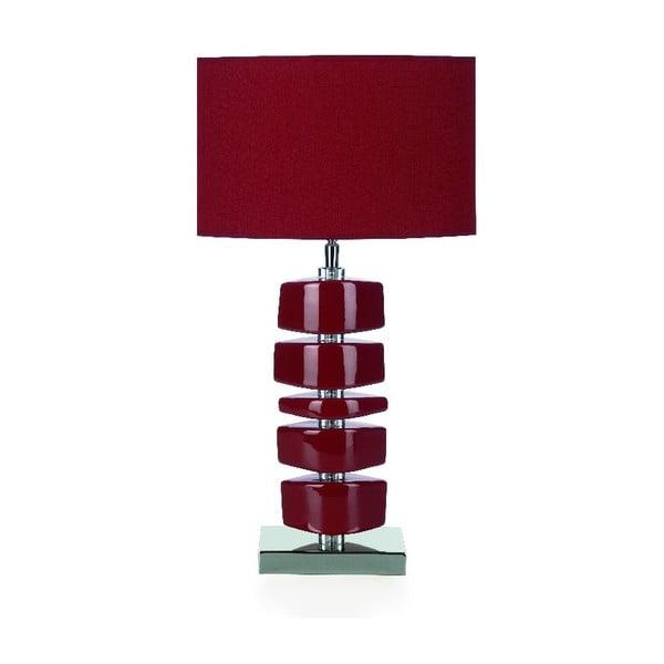 Stolová lampa Lina, červená
