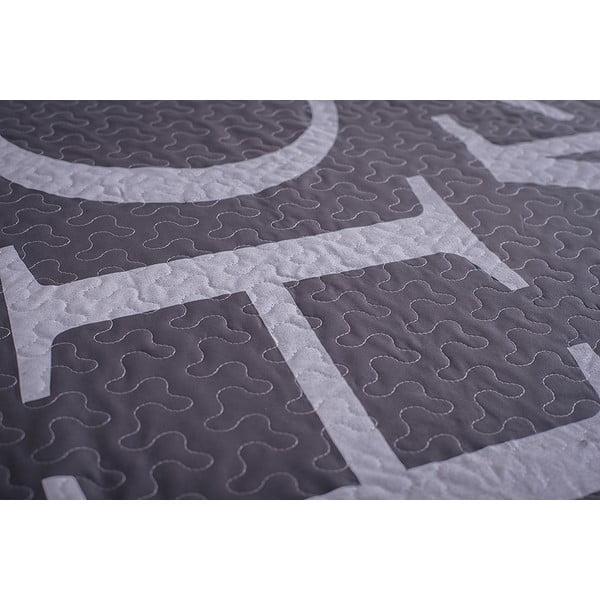 Prešívaná prikrývka Home 150x200 cm, sivý