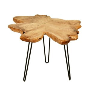 Odkladací stolík s doskou z cédrového dreva 360 Living Montanio 522