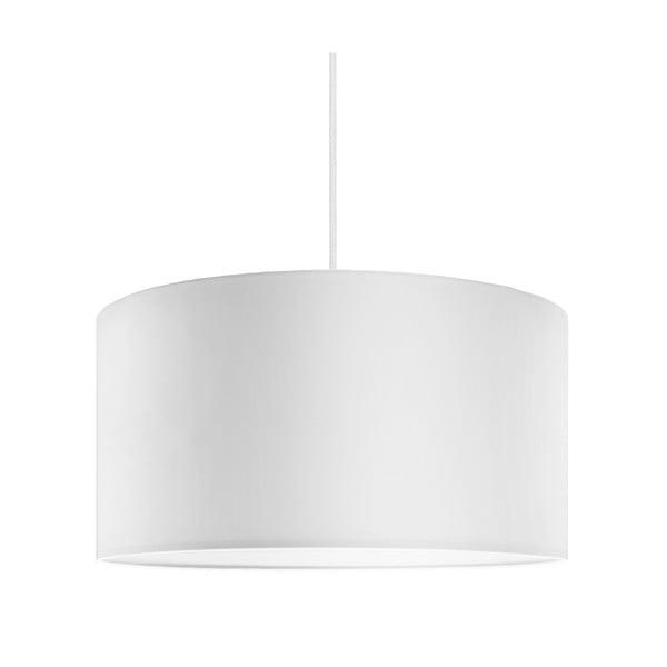 Biele závesné svietidlo Bulb Attack Tres, ⌀ 36 cm
