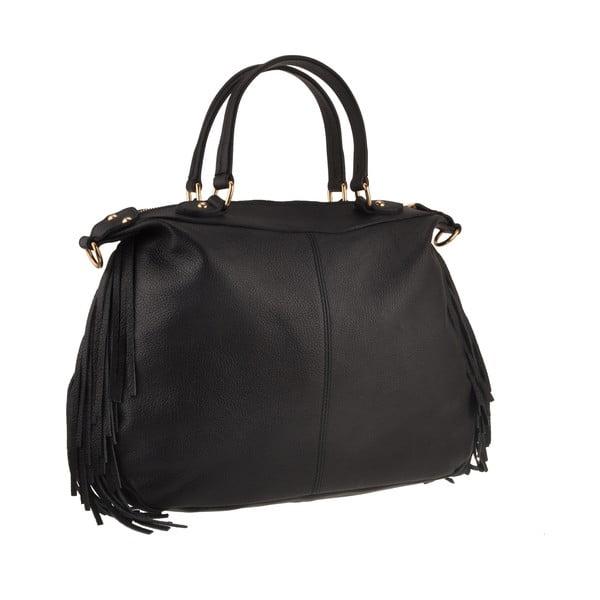 Kožená kabelka Emilio Masi Celaeno, čierna