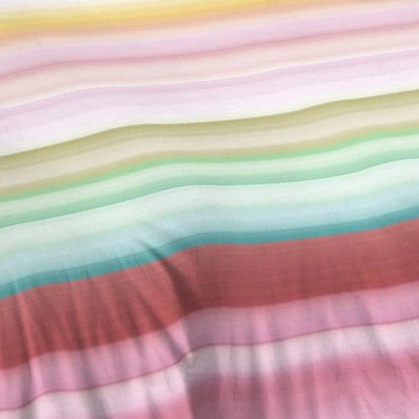 Prúžkované bavlnené obliečky Muller Textiel Descanso, 240 x 200 cm