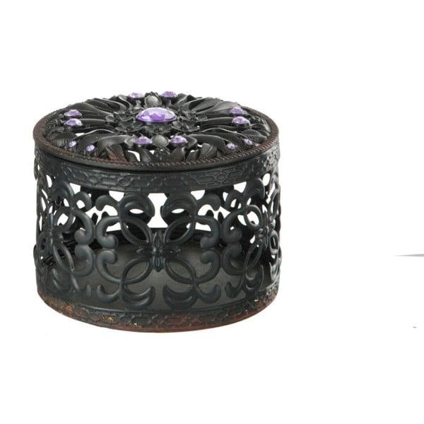 Kovová krabička na drobnosti Baroq