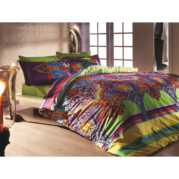 Bavlnené obliečky s plachtou Orient, 200x220cm