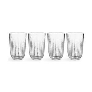 Sada 4 sklenených pohárov Kähler Design Hammershoi, 330 ml