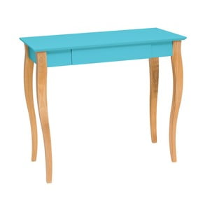Tmavotyrkysový písací stôl Ragaba Lillo,dĺžka 85cm