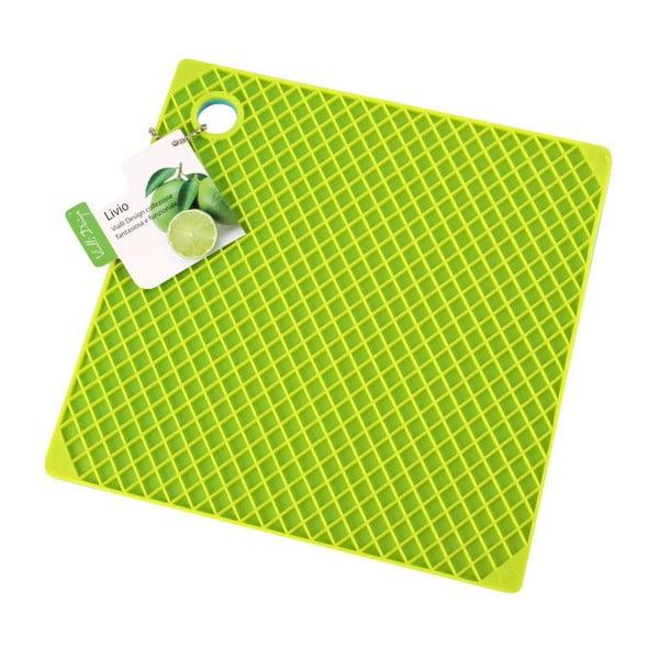 Silikónová chňapka, modrá/zelená