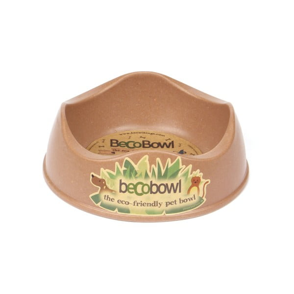 Miska pre psíkov/mačky Beco Bowl 17 cm, hnedá