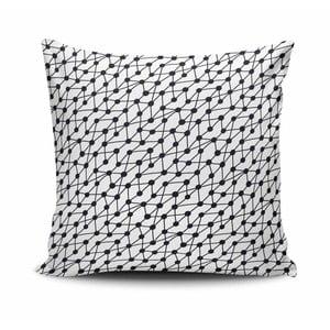 Vankúš s prímesou bavlny Cushion Love Hurgo, 45 × 45 cm
