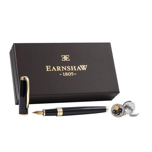 Set guľôčkového pera a manžetových gombíkov Thomas Earnshaw Mixed