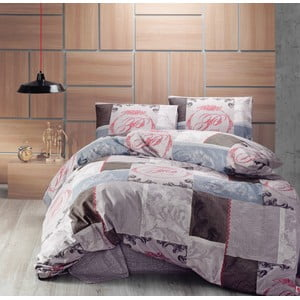 Sada prešívanej prikrývky na posteľ a dvoch obliečok na vankúšSeasons 246, 220x230 cm;