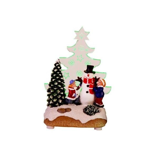 Svietiaca dekorácia Santa with Children