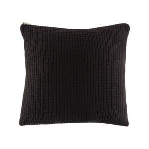 Čierny vankúš White Label Elle, 45 x 45 cm