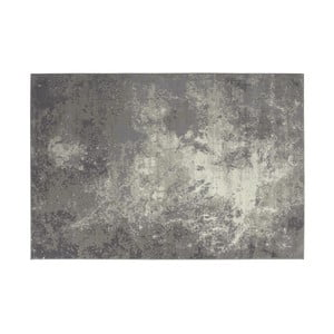 Sivý vlnený koberec Kooko Home Zouk, 240 × 340 cm