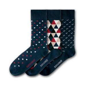 Sada 3 ponožiek Black&Parker London Eden Project, veľkosť 37 – 43