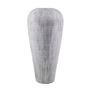 Sivá terakotová váza Moycor Lisboa, ø 40 x 80 cm