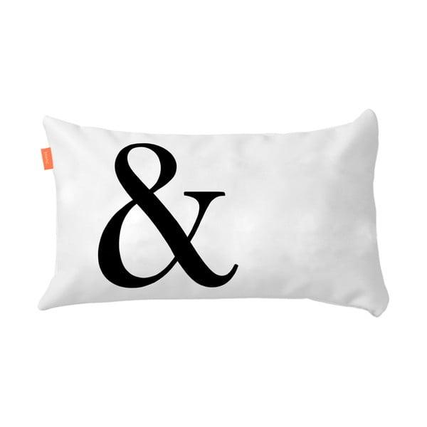 Sada 2 bavlnených obliečok na vankúš Blanc Ampersand, 50 x 50 cm