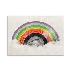Plagát Rainbow Classic od Florenta Bodart, 30x42 cm