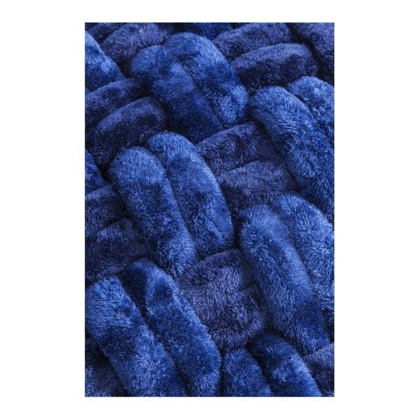 Modrý puf Kare Design Olivio