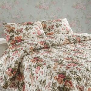Sada prešívanej prikrývky na posteľ a dvoch vankúšov Double 288, 200x220 cm