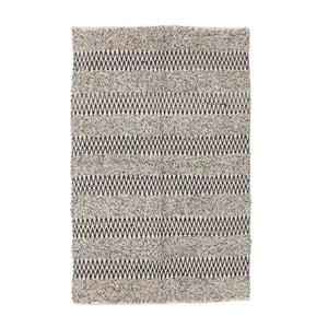Sivý vlnený koberec InArt Rodal, 120×80cm