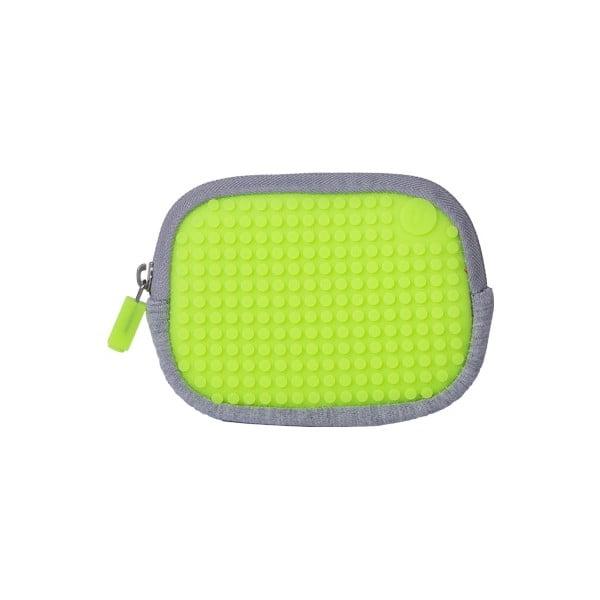 Pixelové univerzálne puzdro, grey/apple green