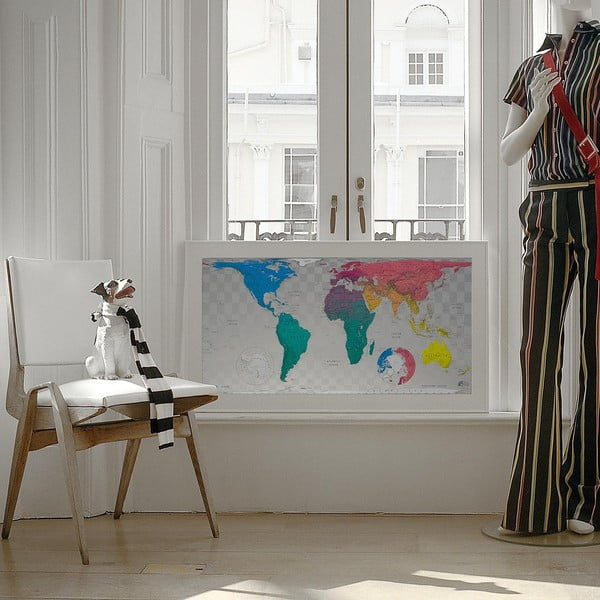 Mapa sveta The Future Mapping Company Future World Map, 101 x 58 cm