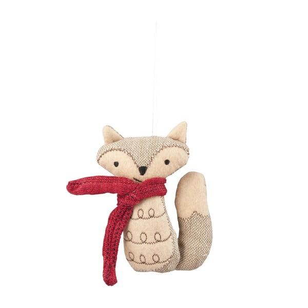 Závesná dekorácia lišky Red Fox