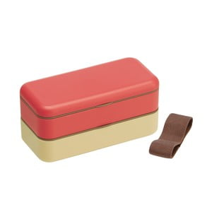 Desiatový box Earth Red, 600 ml